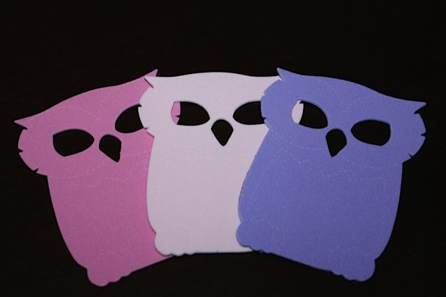 New Owl SHAPES made from Craft Foam! Packs start at only $3 Make