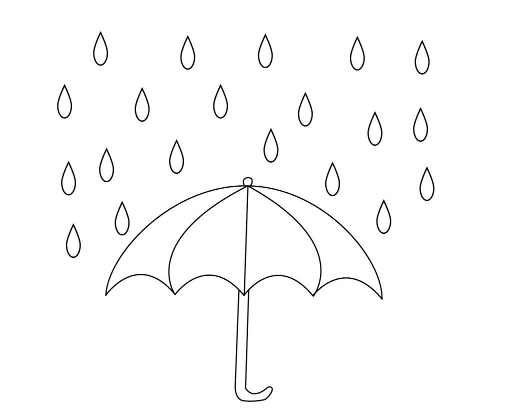 Free Printable Raindrop Coloring Pages | Free Coloring Pages ...
