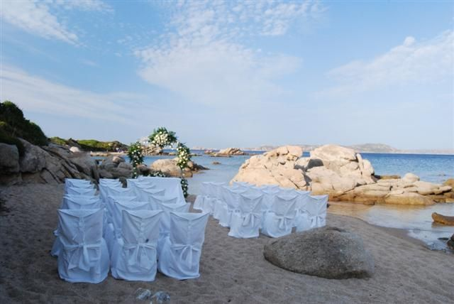 Stunning Location For Beach Weddings In Sardinia Italy
