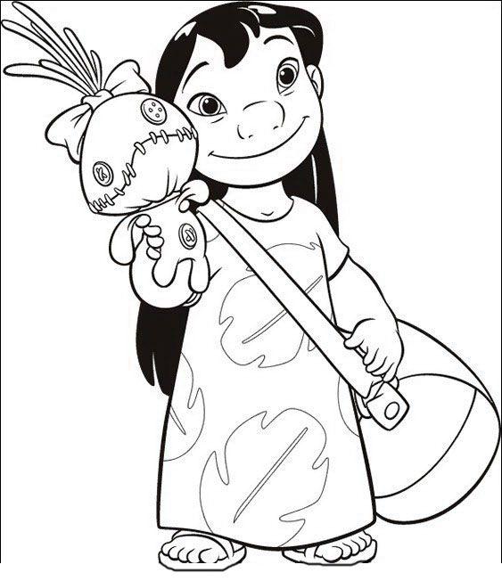 Desenhos para colorir Lilo e Stitch 40 | Desenhos para Colorir ...