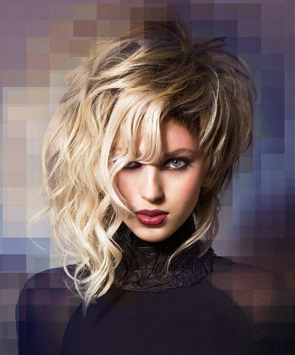 Medium Blonde Hairstyles Llongueras Medium Blonde Hairstyles Estelar En Expo Beauty Show 1997