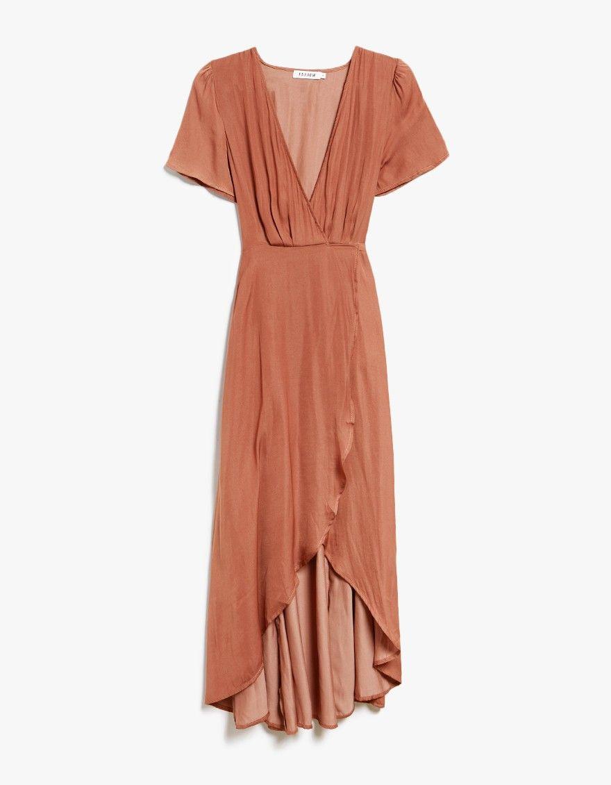 Farrow Cecily Wrap Dress Casual Dress Outfits Wrap Dress Black Dress Outfit Casual [ 1130 x 880 Pixel ]