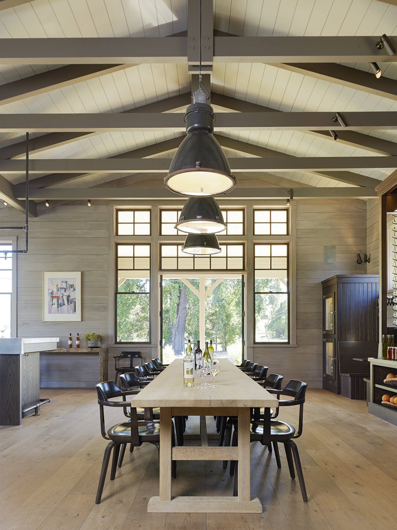Medlock Ames Tasting Room Architectural Detail Architectural