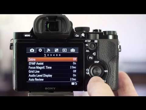 Sony a7 focus settings