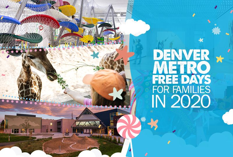 Denver Metro Free Days for Families in 2020 Free day