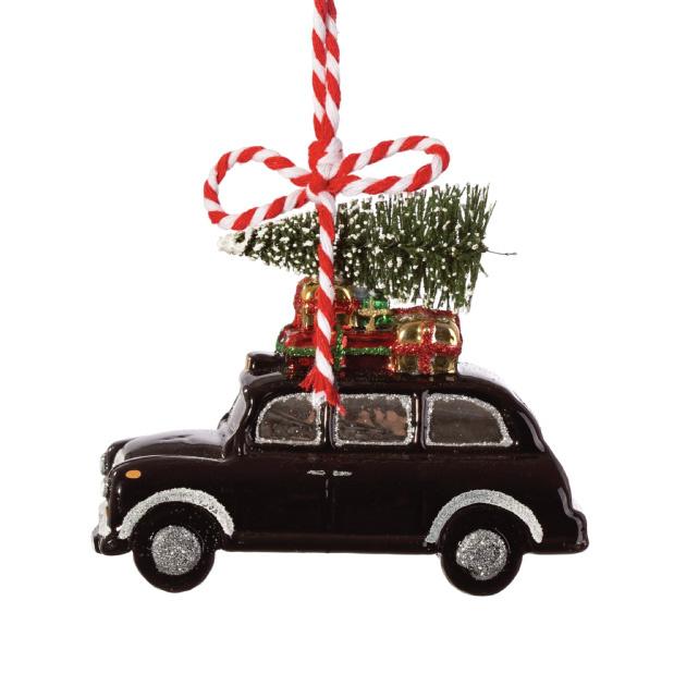 Kersthanger London Christmas Cab Londen Kerst Kerst Ideeen Versierde Kerstbomen
