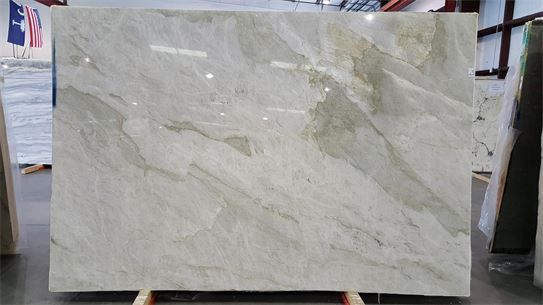 Mother Of Pearl Quartzite Kitchen Countertops In Columbia