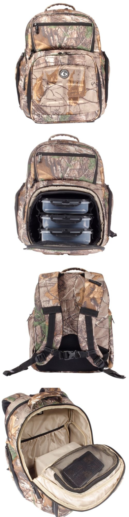 03bd57dc39 Gym Bags 68816  6 Pack Fitness Expedition 300 Realtree Camo Meal Management  Bag Limited Edition