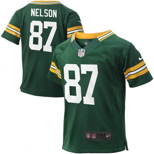 detailing a3c83 8abd1 Nike Jordy Nelson Green Bay Packers Infant Game Jersey ...