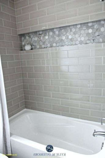 44 An Actionable Tutorial On Tile Shower Ideas With Tub Small Baths In An Easy To Follow Manner 63 Subway Tiles Bathroom Small Bathroom Small Bathroom Remodel