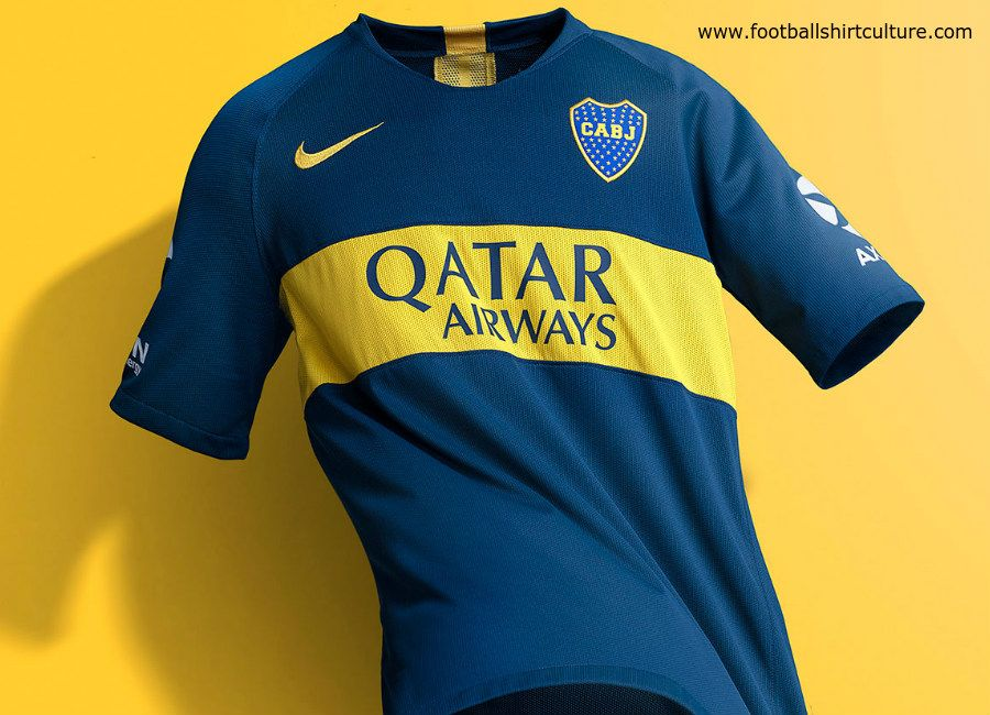 timeless design 356ac c0acf This is the new Boca Juniors 18/19 home football shirt by ...