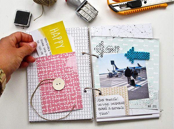 Como hacer un scrapbooking buscar con google scrapbook - Como hacer un album scrapbook ...