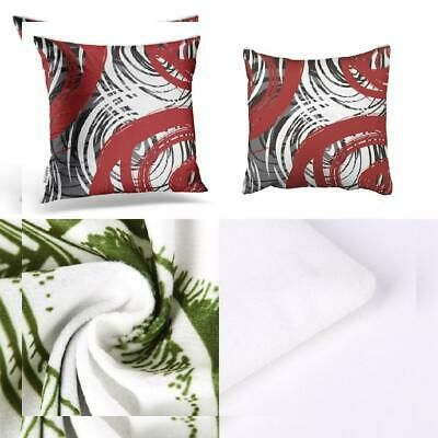 Accrocn Throw Pillow Covers Red And Black White Gray 20