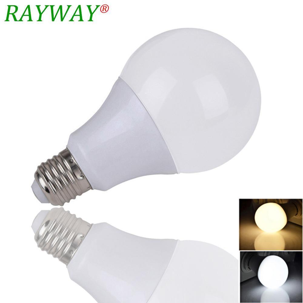 Rayway Lampada Ampoule Bombilla Led Bulb E27 3w 7w 9w 12w 15w Smd 2835 Led Light Bulb Ac 220v Cold Warm White Led Spopt Lihgt Yes Bulb Light Bulb Led