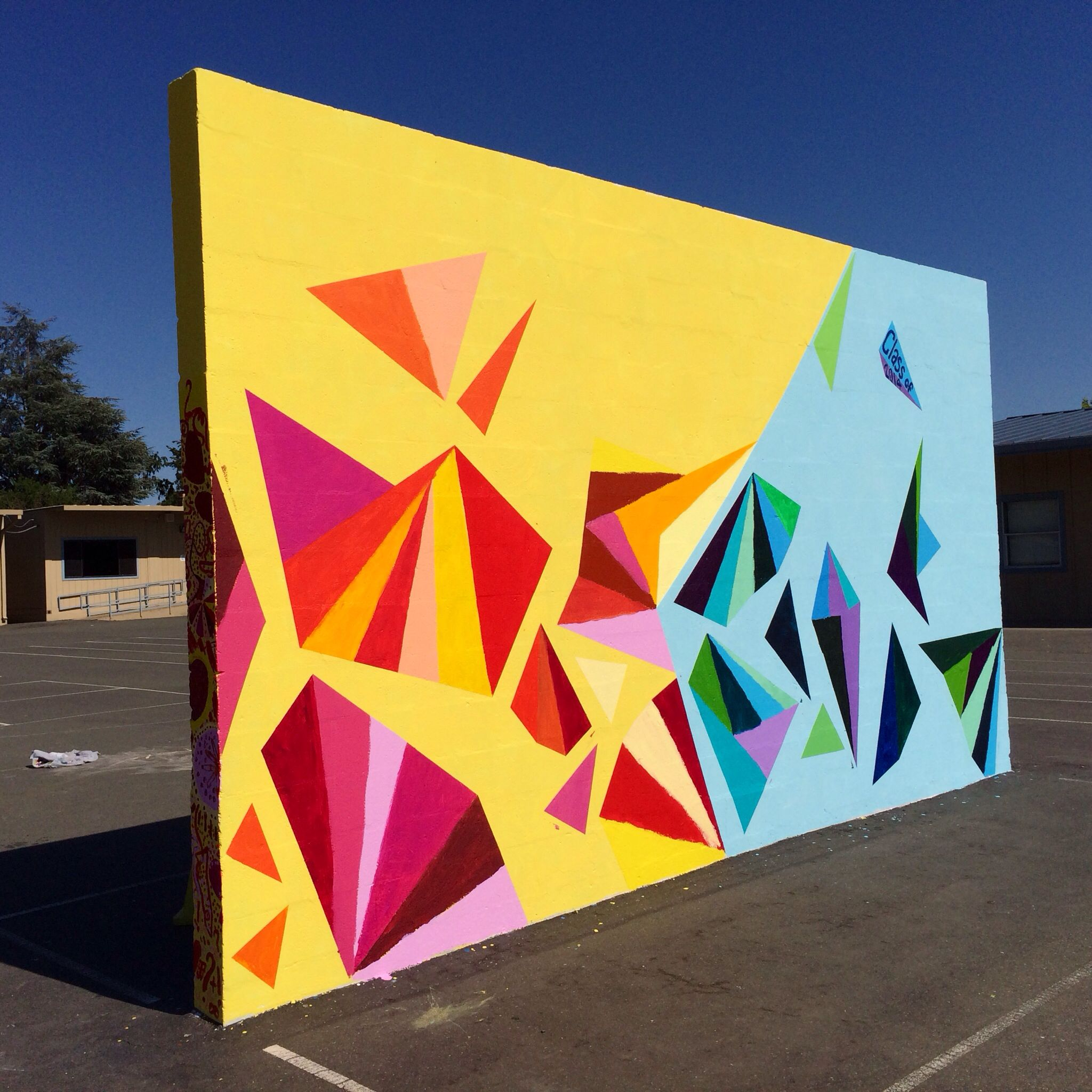 Mural Art, Sequoia Elementary School Santa Rosa, CA - 6th Grade ...