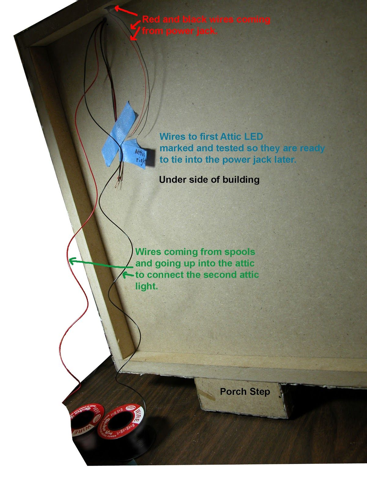 Dollhouse Wiring How To Schematic Diagrams Wire Or Rewire A Miniature Take Advantage Of Led 4 20ma