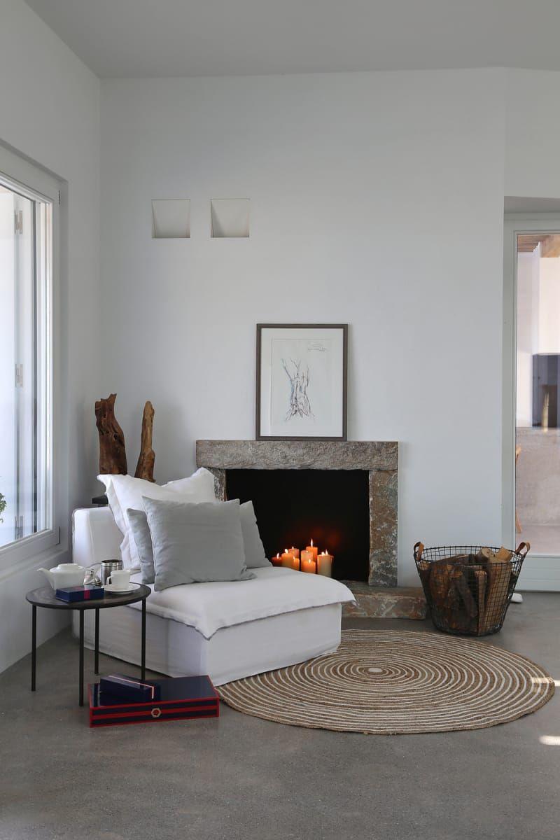 Sommer auf Syros  Greece  Pinterest  Sommerhaus Wohnzimmer und Haus