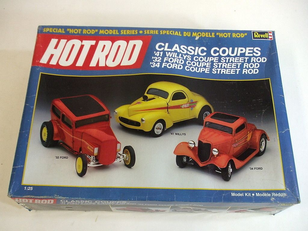 41 willys truck kit - Revell Hot Rod Series Classic Coupes 41 Willys 32
