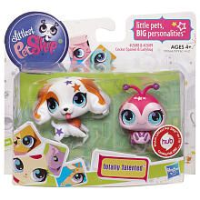 "Littlest Pet Shop Totally Talented Pets Figures - Cocker Spaniel/LadyBug - Hasbro - Toys ""R"" Us"