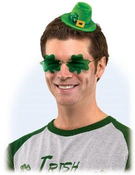 Glorious shamrock sunglasses for St. Patrick's Day
