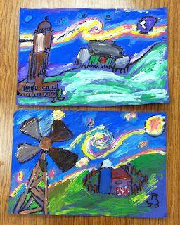 Wahoo for Art!: Starry Night over Nebraska