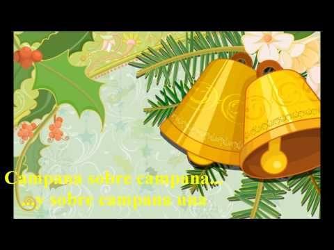 Campana Sobre Campana Villancico Con Letra Youtube Fondo De Escritorio De Navidad Imágenes De Navidad Navidad Musica