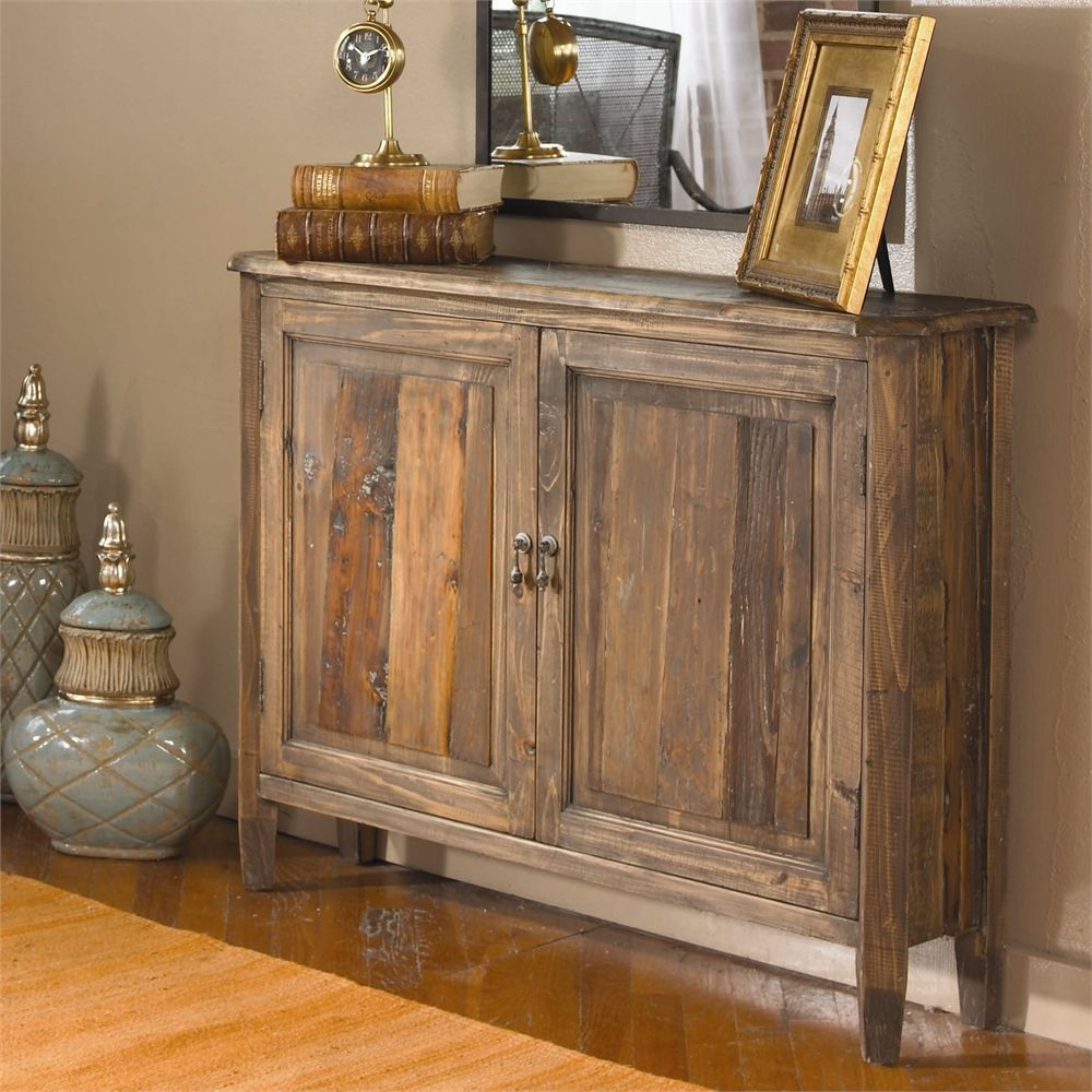 Captivating Uttermost Altair Reclaimed Wood Console Cabinet