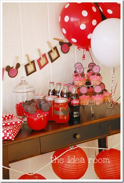 Minnie Mouse Party Ideas Disney Pinterest