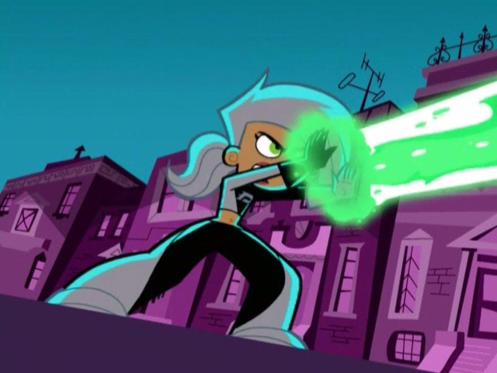 Dani Phantom from Danny Phantom using her powers  | Anime is