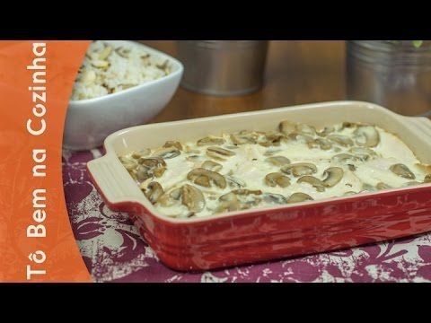 PEITO DE PERU com molho branco e champignon (Episódio #98)