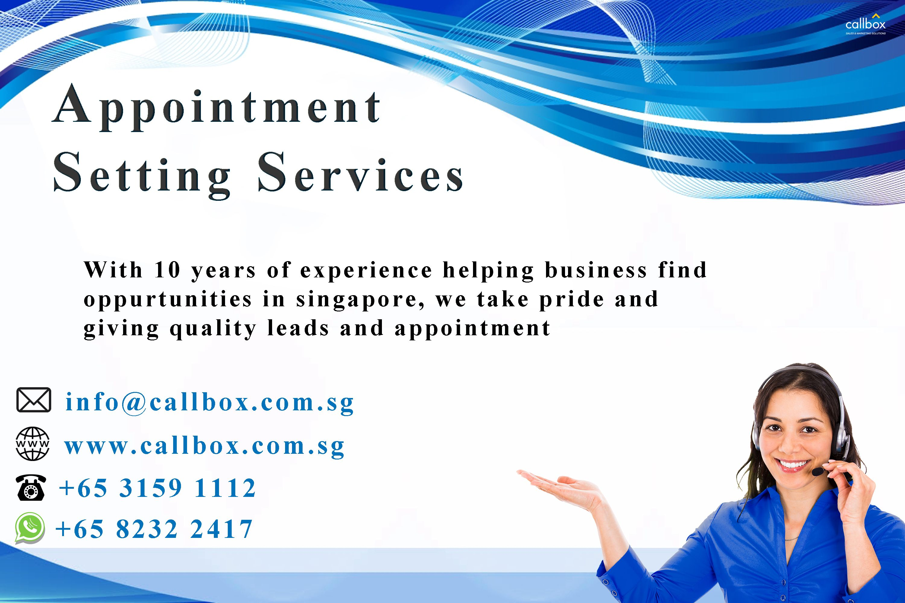 Appointment Setting Service In Singapore Lead Generation
