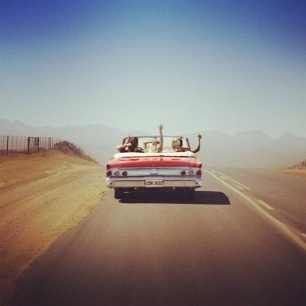 Nós <3 estradas.