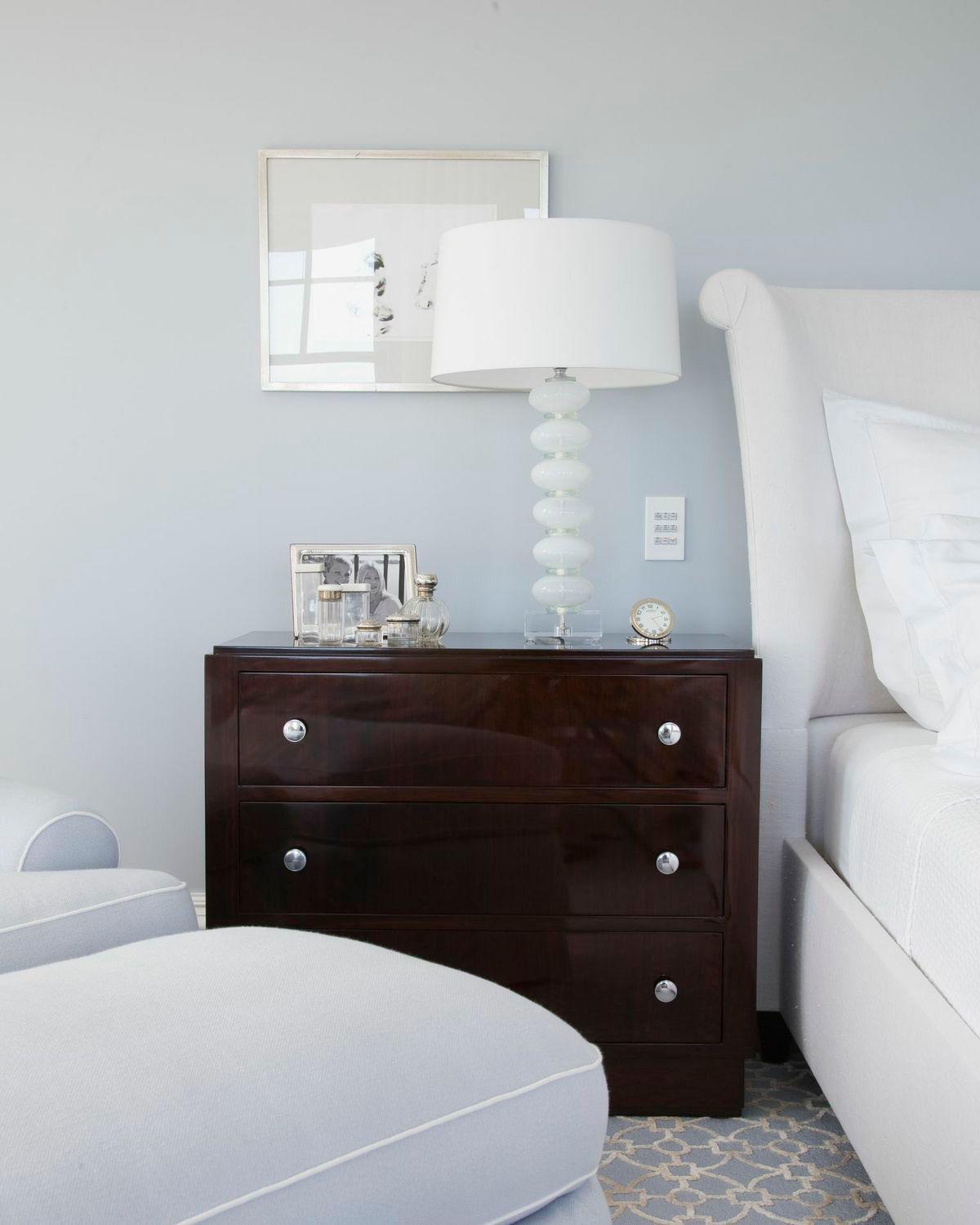 Fresh & modern accents in this WestportCT bedroom