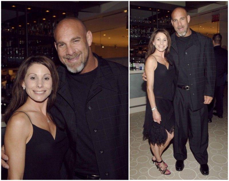 Bill Goldberg with spouse Wanda Ferraton | Wrestling
