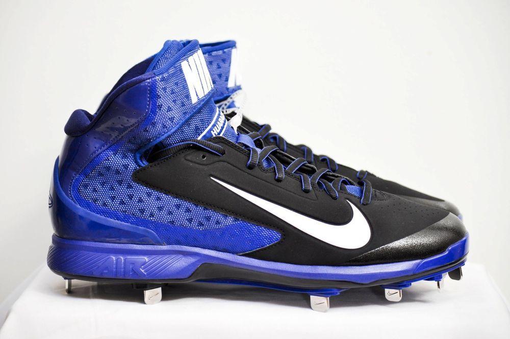 f6c00bad7c61e Nike Air Huarache Pro Metal Mid Baseball Cleats Men style 599235 NEW #Nike
