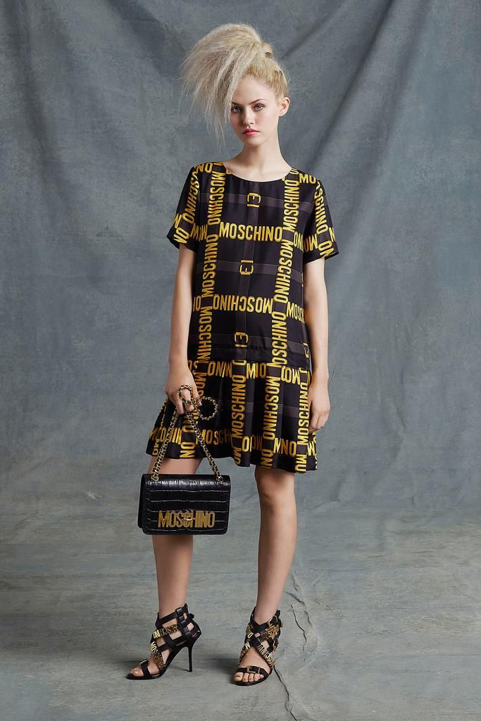 Moschino Resort 2015 - Collection - Gallery - Look 1 - Style.com