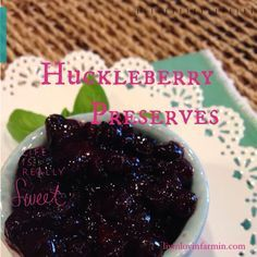 The best part of this recipe is it truly takes less then 15 minutes to make. Because the cooking time is so minimal and there is no heat processing, the integrity of the huckleberries stays true and is not masked by a bunch of sugar.