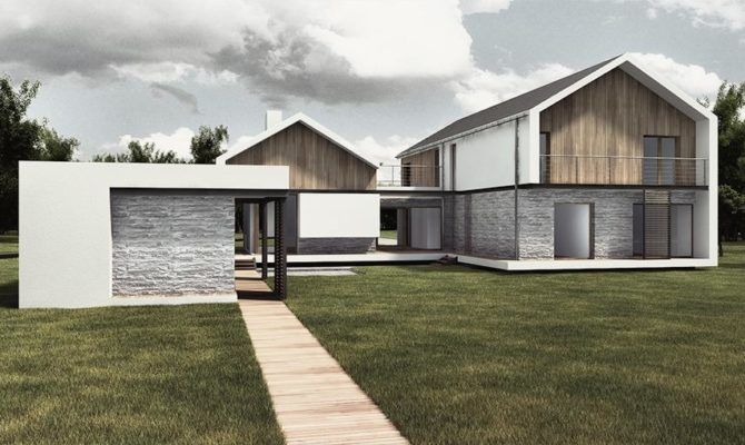 Pitched Roof House Tri Part