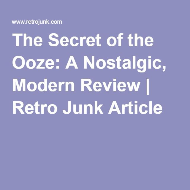 The Secret of the Ooze A Nostalgic, Modern Review Retro Junk - food cost spreadsheet