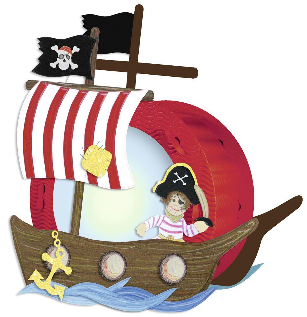 Laternen Bastelset Pirat Schiff Laterne Selbst Basteln St