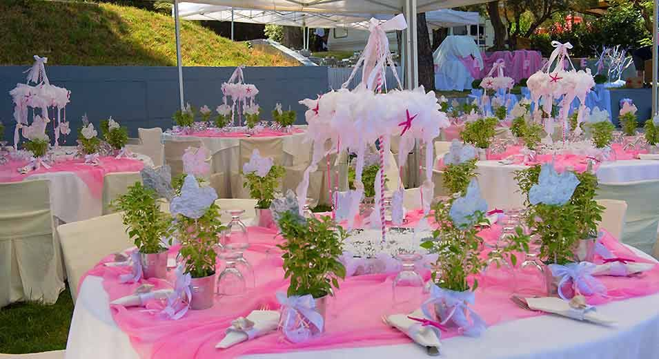 Decorating ideas for baptism party baptism ideas for Baby dedication decoration