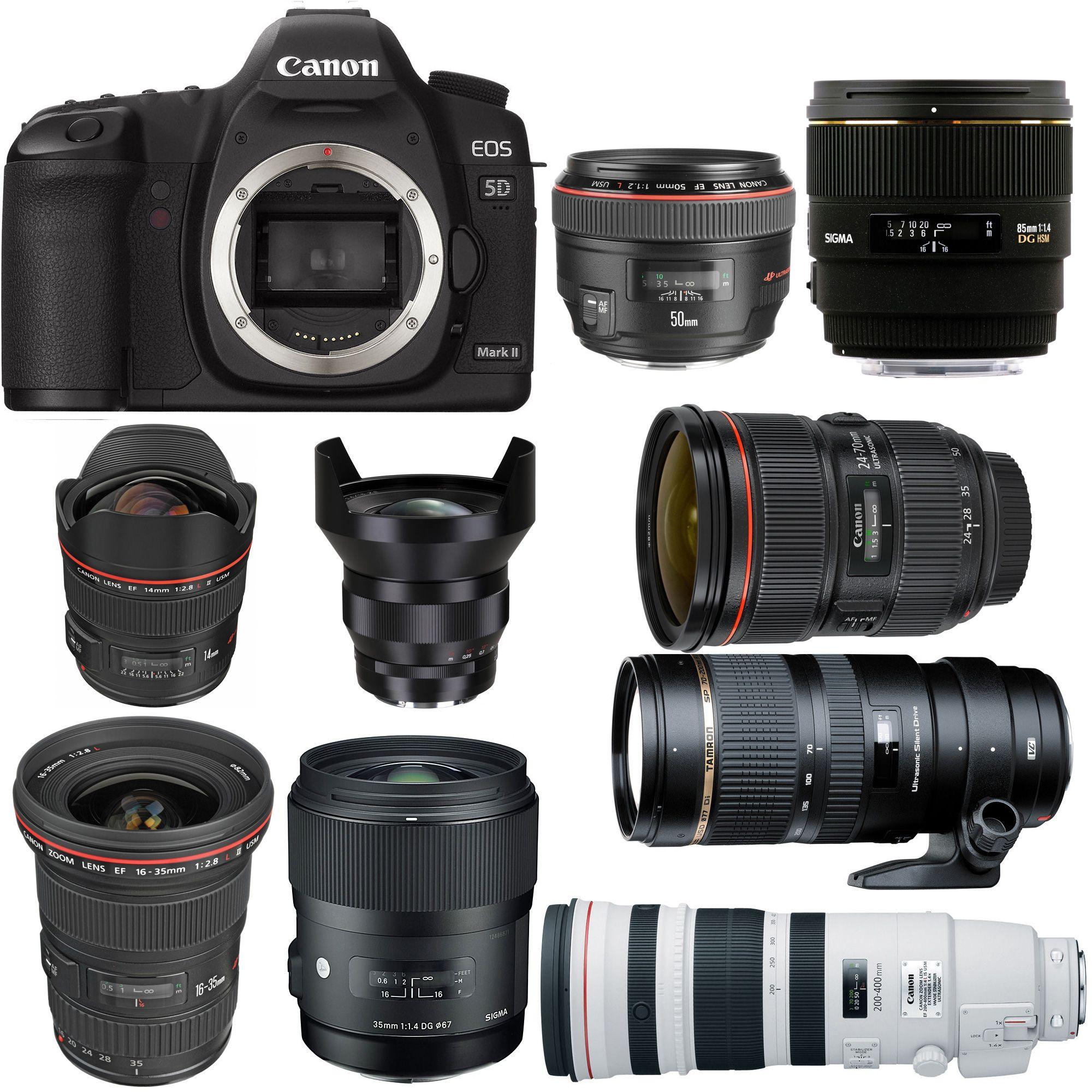 Best Lenses For Canon Eos 5d Mark Ii Dslr Photography Tips