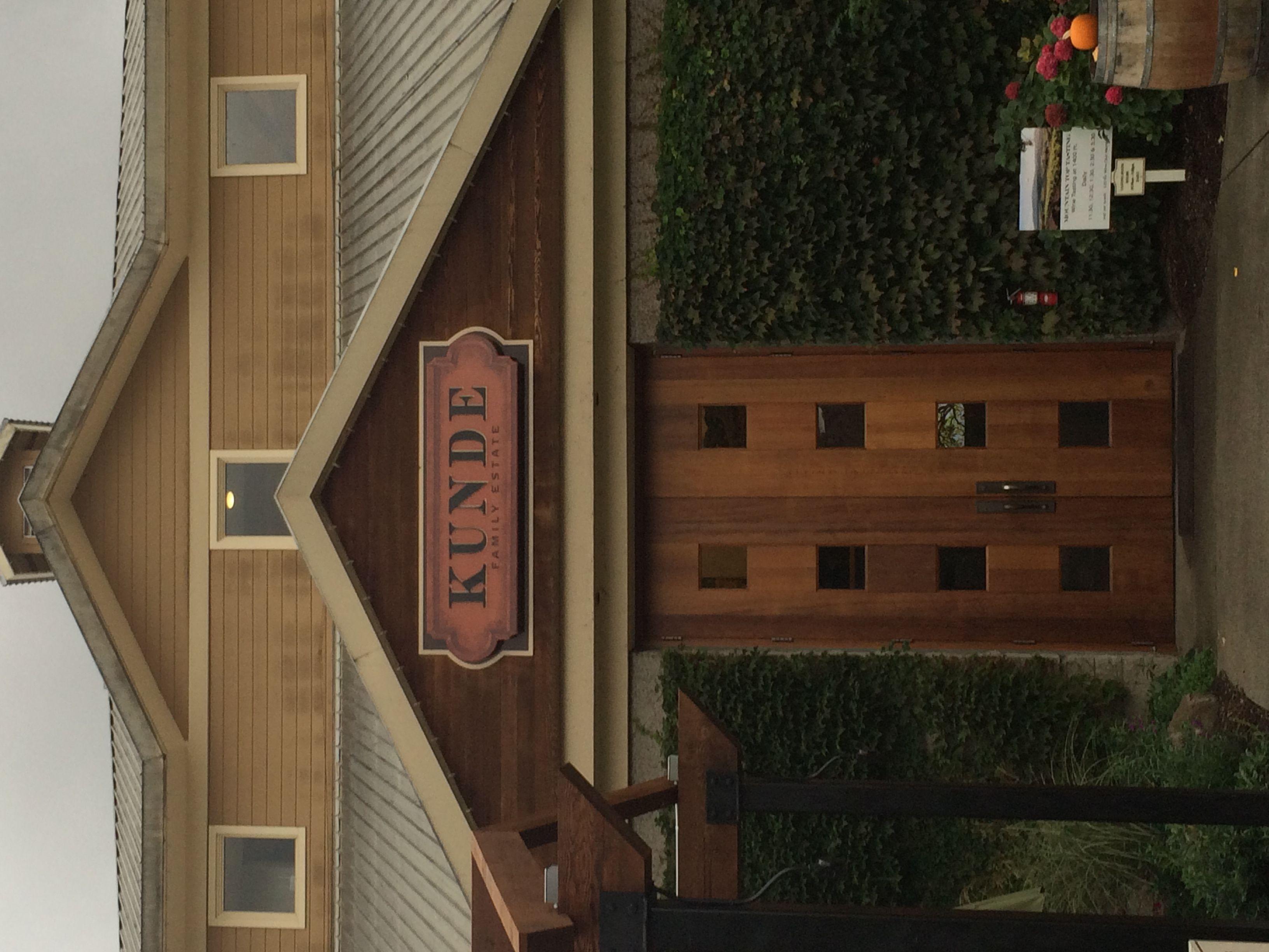 Kunde Estate Family Winery: Sonoma, CA www.calliekaybeauty.com