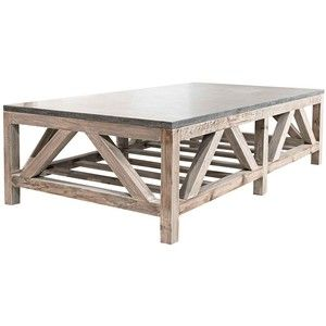 Attractive Blue Stone Coffee Table