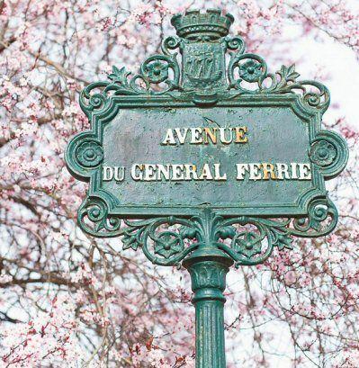 L'avenue du Général-Ferrié, au printemps... (Paris 7ème)