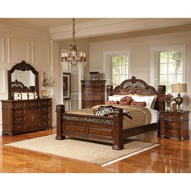 DuBarry Low Post Bedroom Set