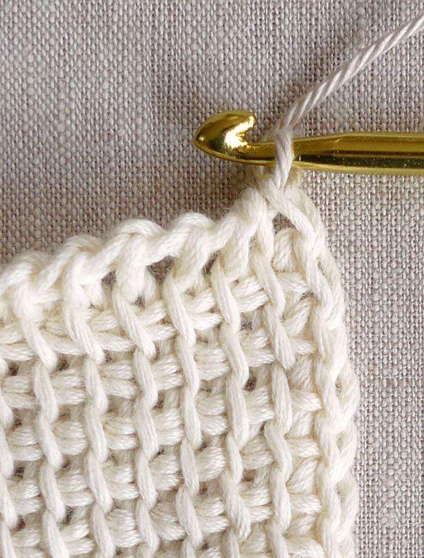 Tunisian Crochet Basics | Purl Soho | Brazillian Dimential ...