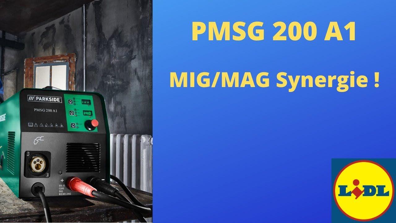 Synergická svářečka z LIDLu PMSG 200 A1 Youtube, Lidl