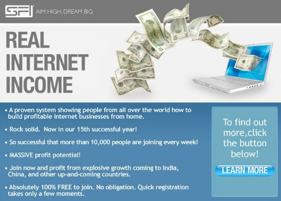 Work from Home Internet Money Making Opportunity Business Opportunity