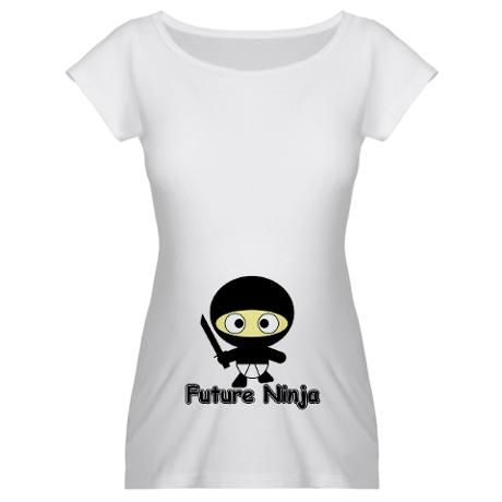 a4542e030c364 My husband is already a ninja, so why not baby? Pregnancy Shirts